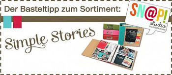 Simple Stories - der Basteltipp