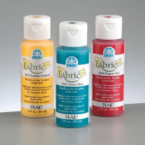 FolkArt Fabric Paint opaque 59 ml, wicker white