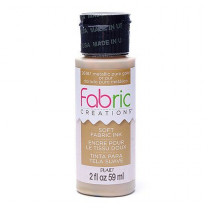 Fabric Creations™ Stempelfarbe, 59 ml, metallic pure gold