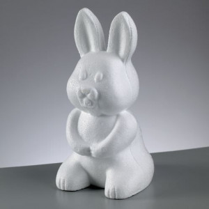 Styroporform, Hase, 240 mm