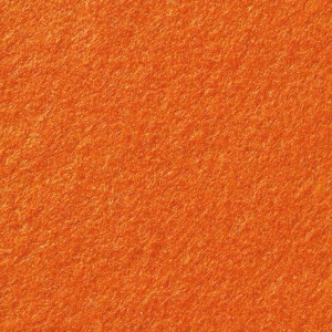 Filzplatte, 100 % Viscose, 20 x 30 cm x 1.0 mm, 120 g/m², orange, 3 Platten im SET
