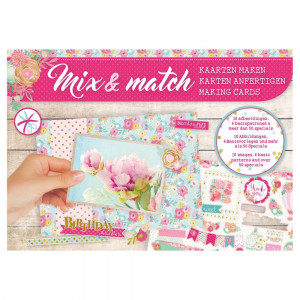 Designpapier Mix & Match, Birthday, 21 x 14,8 cm