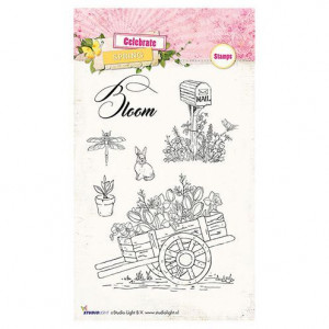 Stempel Clear, Celebrate Spring, A6 / 105 x 148 mm, 6  - teilig, transparent 171