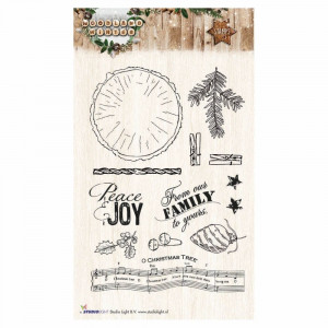 Stempel Clear, WOODLAND WINTER, A6 / 105 x 148 mm, 13 - teilig, transparent 193