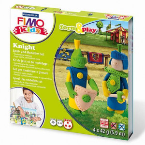 Fimo® Kids form & play, Knight, 7 - teilig