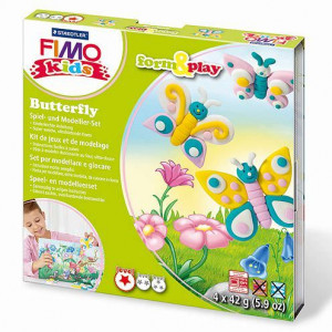 Fimo® Kids form & play, Butterfly, 7 - teilig