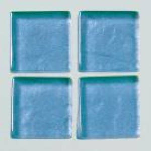 MosaixSoft-Glassteine Metallic, 10 x 10 x 4 mm, 200 g ca. 215 Stk., blau