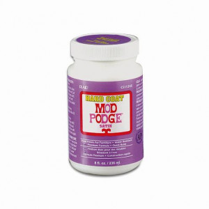 Mod Podge, Hard Coat, 236 ml, seidenmatt