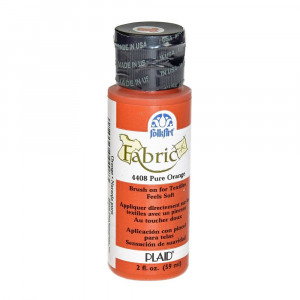FolkArt Fabric Paint opaque 59 ml, pure orange
