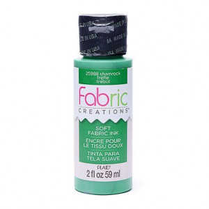 Fabric Creations™ Stempelfarbe, 59 ml, shamrock