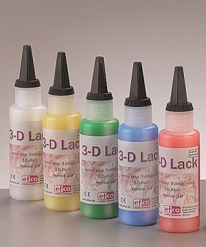 3-D Lack 50 ml, farblos transparent