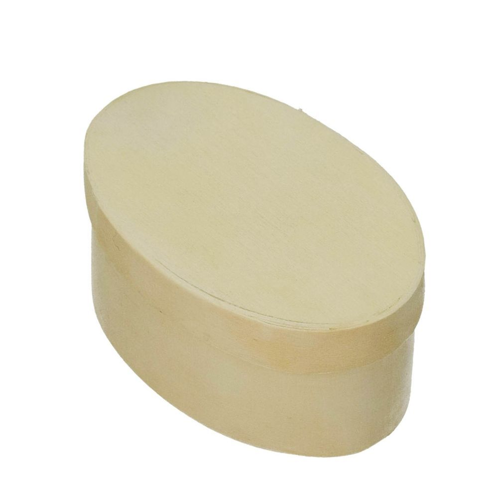 Spandose, oval, d 90 x 55 mm H 40 mm, roh