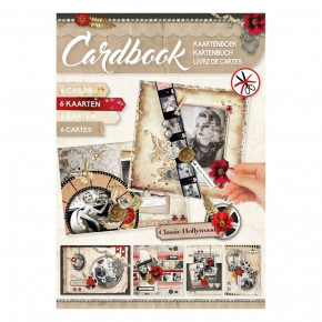Designpapier Cardbook, Classic Hollywood, A4 / 210 x 297 mm,