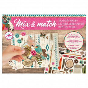 Designpapier Mix & Match, Follow your heart, 21 x 14,8 cm,
