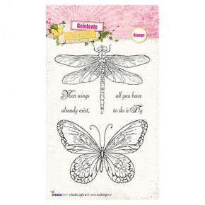 Stempel Clear, Celebrate Spring, A6 / 105 x 148 mm, 4 - teilig, transparent 172