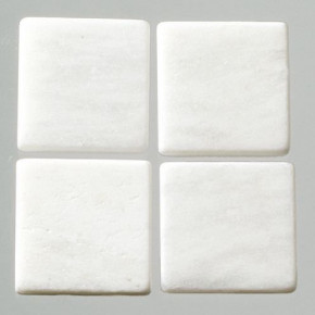 MosaixPur-Echtstein, 10 x 10 x 4 mm, 1.000 g ~ 1050 Stck weiss Marmor