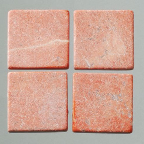 MosaixPur-Echtstein, 10 x 10 x 4 mm, 1.000 g ~ 1050 Stck rot