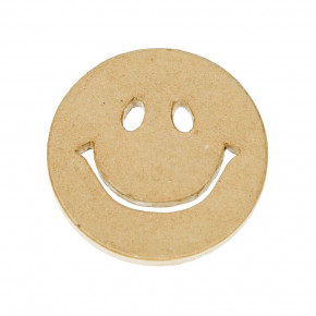 PappArt, Smiley, ø 10 x 1 cm,