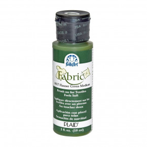 FolkArt Fabric Paint opaque 59 ml, hauser green
