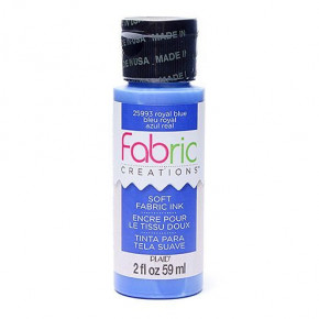 Fabric Creations™ Stempelfarbe, 59 ml, royal blue