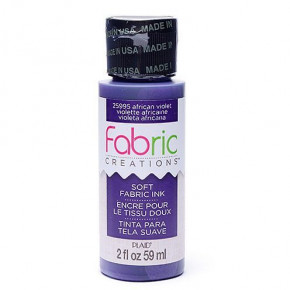 Fabric Creations™ Stempelfarbe, 59 ml, african violet
