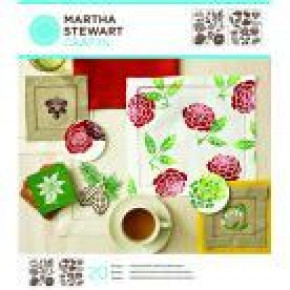Martha Stewart Medium Stencil Portfolios, Four Seasons, 22 x 24 cm, 2 Stück